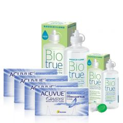 4 KUTU OASYS TORIC + BIO TRUE 300 + 120 ML
