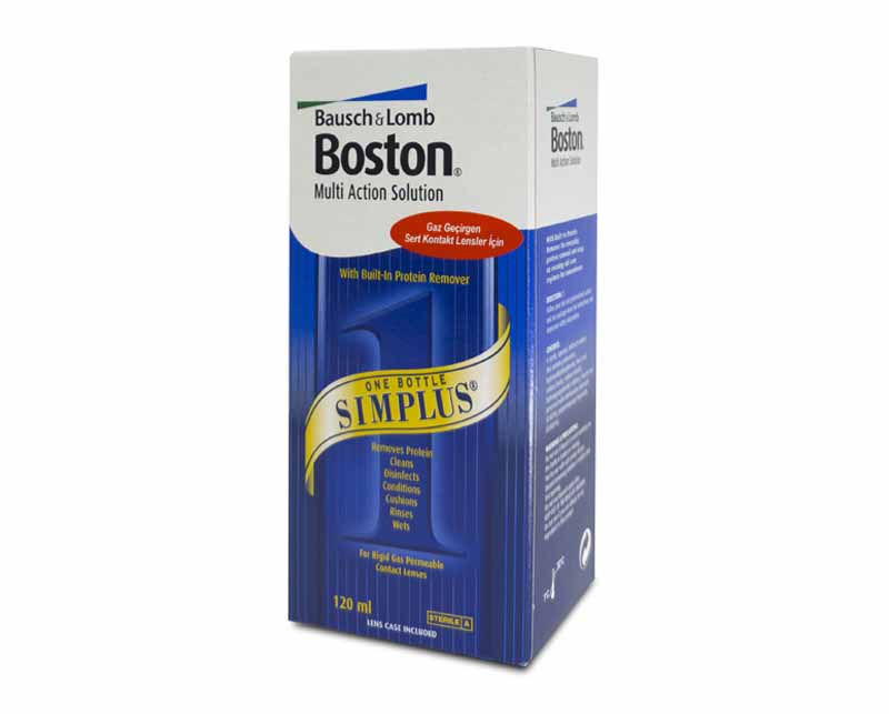 BOSTON SOLUSYON 120 ML / LENS SOLUSYONU