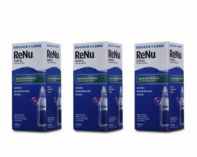 RENU SOLUSYON 120 ML 3 KUTU / FIRSAT PAKETLERİ