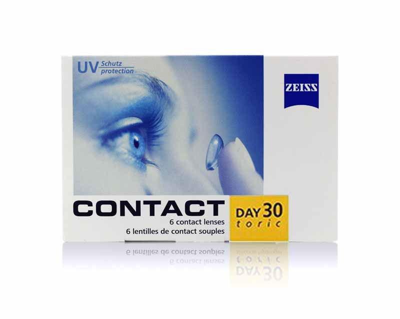 ZEISS CONTACT DAY 30 TORIC / TORIC LENSLER (ASTIGMATLI)