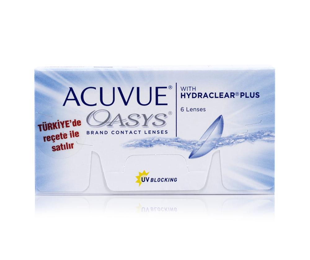 ACUVUE OASYS / ŞEFFAF LENSLER