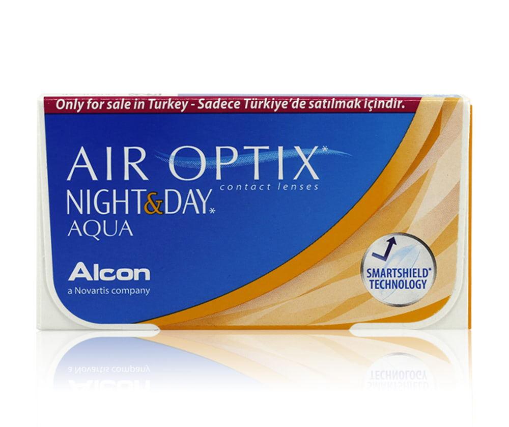 AIR OPTIX NIGHT & DAY AQUA / ŞEFFAF LENS