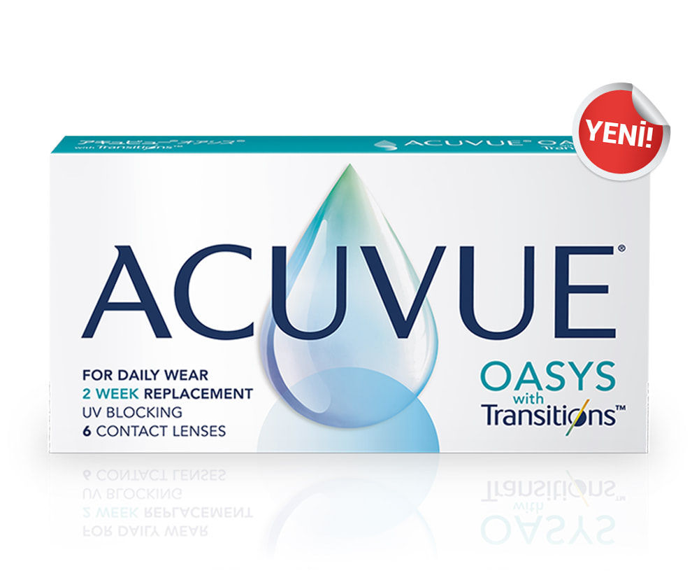 ACUVUE OASYS WITH TRANSITIONS / ŞEFFAF LENSLER