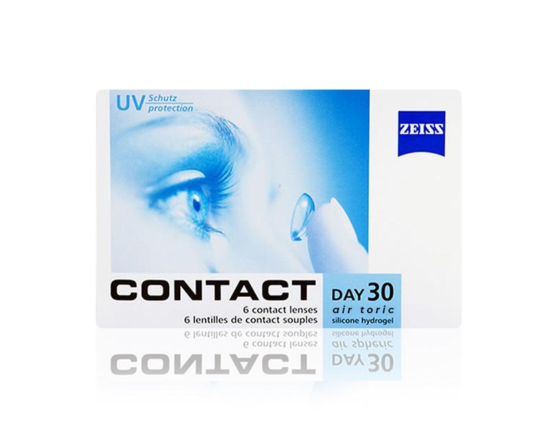 ZEISS CONTACT DAY 30 AIR TORIC / TORIC LENS (ASTIGMATLI)
