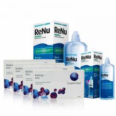 4 KUTU BIOFINITY TORIC + RENU 360 ML + 120 ML