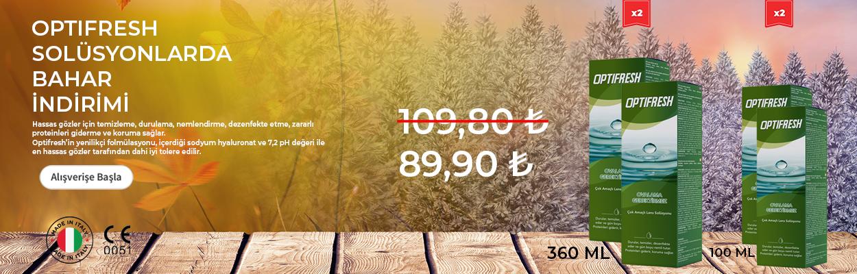 OPTIFRESH SOLUSYON 360 ML +100 ML
